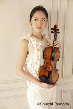 ヴァイオリン 南紫音 写真