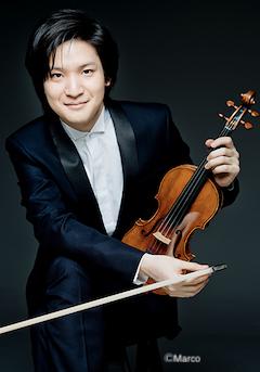 ヴァイオリン:成田 達輝 写真